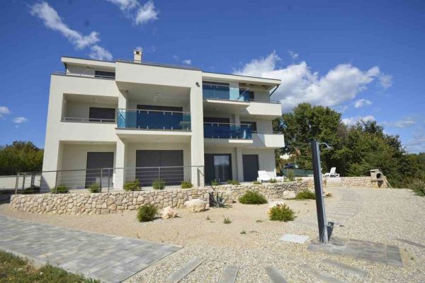 Buy apartment in new building by the sea in Croatia.