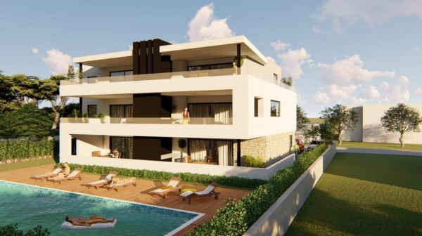New apartments in the Privlaka region, Zadar for sale.