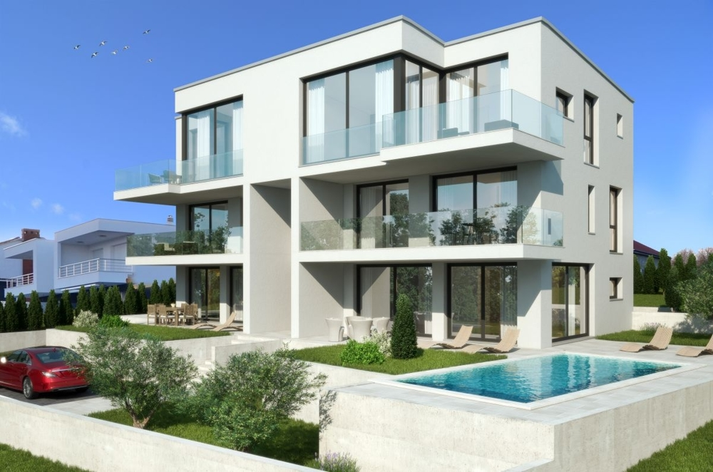 New real estate on the island of Krk in Croatia for sale.