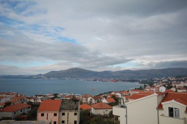 The sea view from the apartment for sale in Croatia on Ciovo. Property with sea view - Panorama Scouting