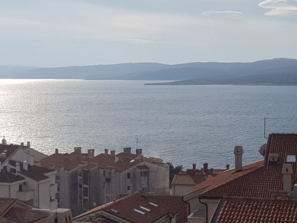 Cheap apartment with sea views in Crikvenica in the north of Croatia for sale.