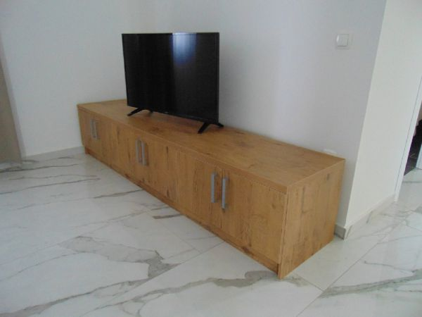 TV board and TV.