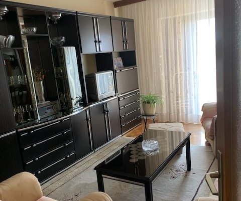 Living area and exit to the terrace of property A1246 in Istria.