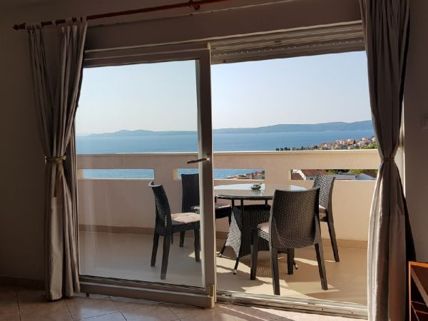 Buy an apartment with sea view in Dalmatia.