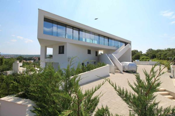 The new designer-style penthouse is for sale on Krk, Croatia