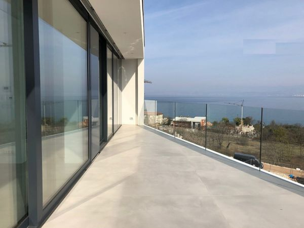 The view from the penthouse for sale on sea and surroundings. Property with sea view - Panorama Scouting