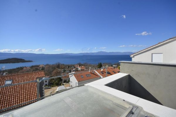 New apartment in Croatia on the island of Krk for sale.