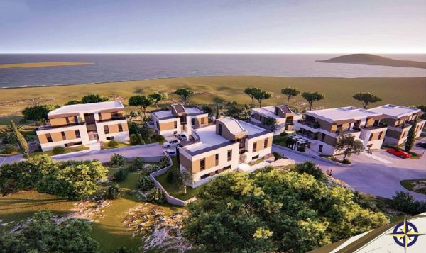Apartments buy island Murter Croatia.