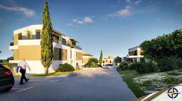 Apartments in a new building complex on the island Murter in Croatia.