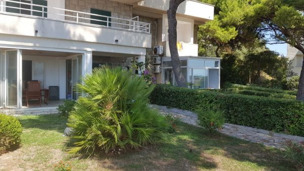 Buy apartment with garden in Croatia.