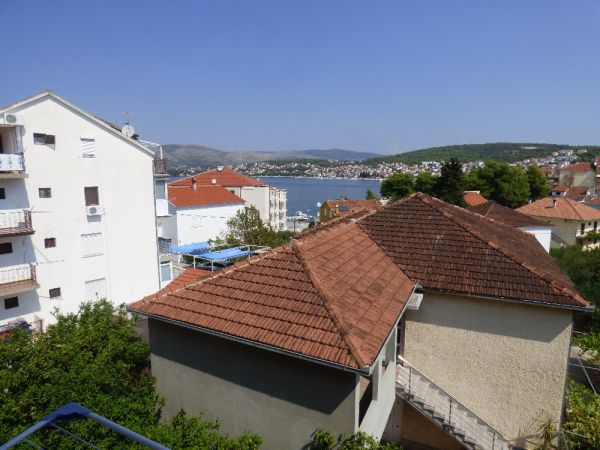 Apartment with balcony and sea view for sale on Ciovo, Dalmatia.