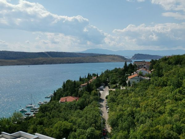 Property with sea views in Crikvenica, Croatia.