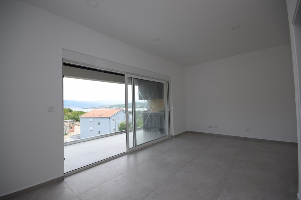 New duplex for sale in the region Soline on Krk, Croatia.