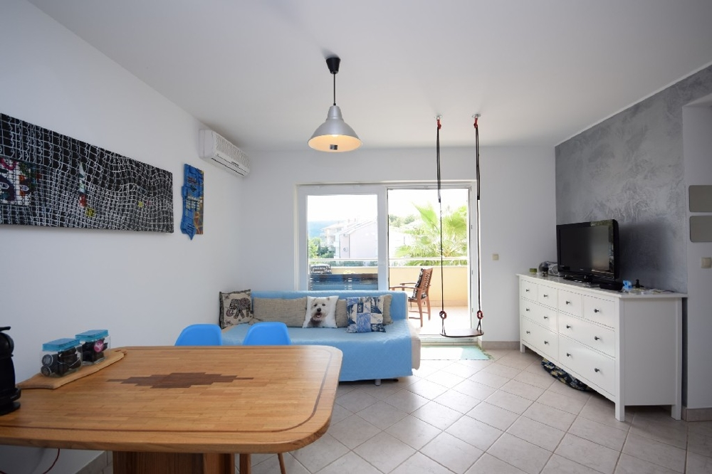 Furnished apartment in the Soline region on the island of Krk to buy.