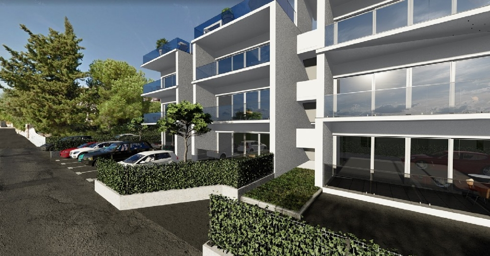 Apartments in new building on the island Ciovo in Croatia - Panorama Scouting GmbH.