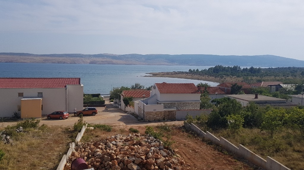 Sea view from balcony Property A1479 in Croatia, Starigrad Paklenica.