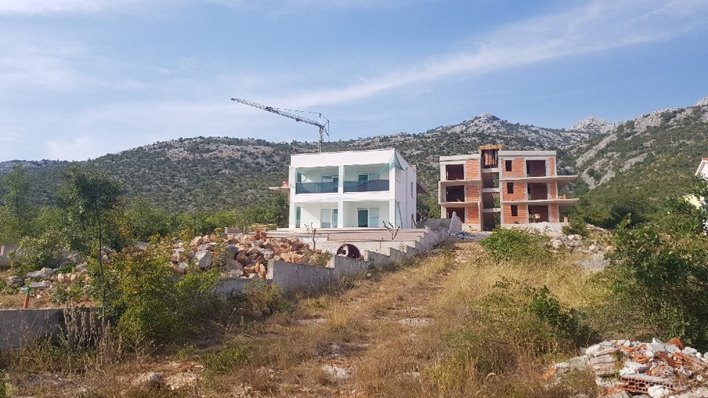 Real estate in the region Starigrad Paklenica, Croatia.