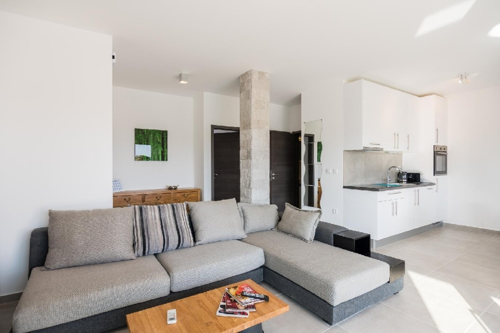 Nicely furnished living area - real estate in Croatia.