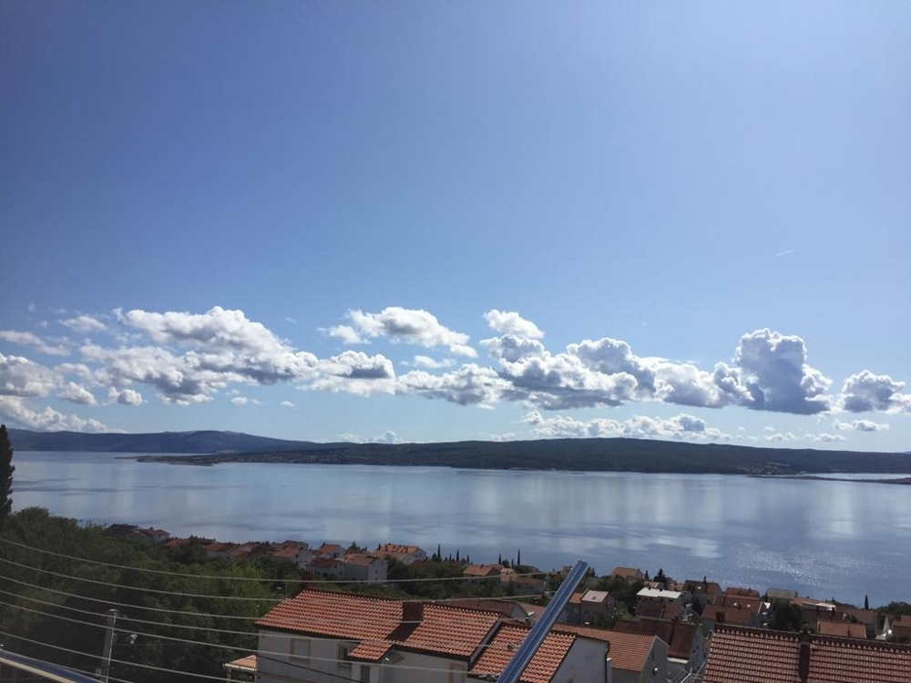 Sea view apartment for sale in Croatia, A1524 in Dramalj, a suburb of the city of Crikvenica.
