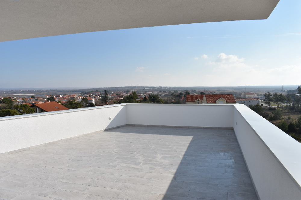 Buy apartment with huge roof terrace in Croatia - Panorama Scouting.