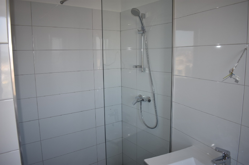 The comfortably equipped bathroom of property A1528 in Dalmatia.