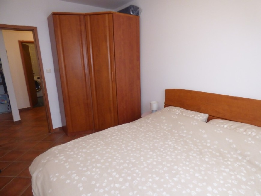 The second bedroom of property A1540, island of Ciovo.