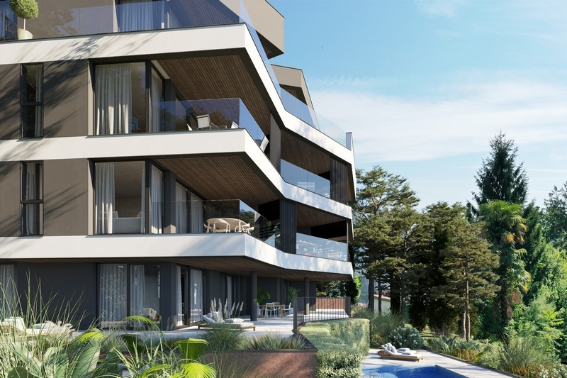 High quality new construction project in Croatia - Panorama Scouting GmbH.
