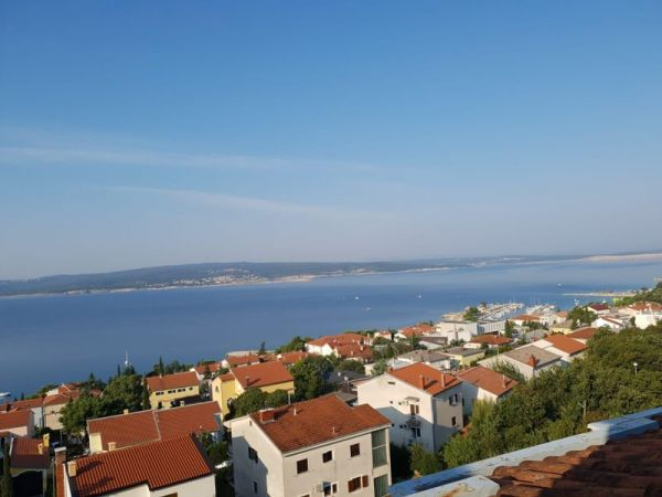 Duplex apartment with beautiful sea views in Crikvenica, Croatia for sale - Panorama Scouting.
