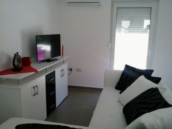 The apartment is sold including the high quality furniture.