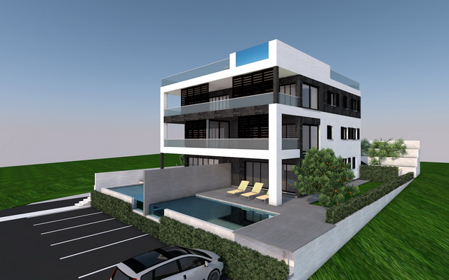 Modern apartments in Croatia for sale.