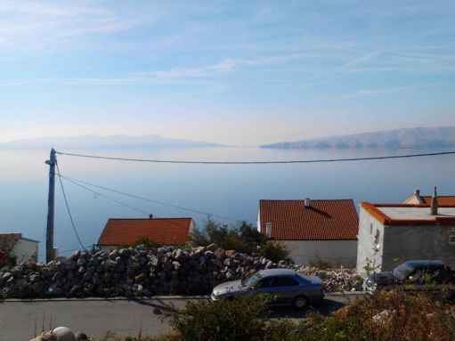 Also on adjacent property in Senj with sea view a house is being built
