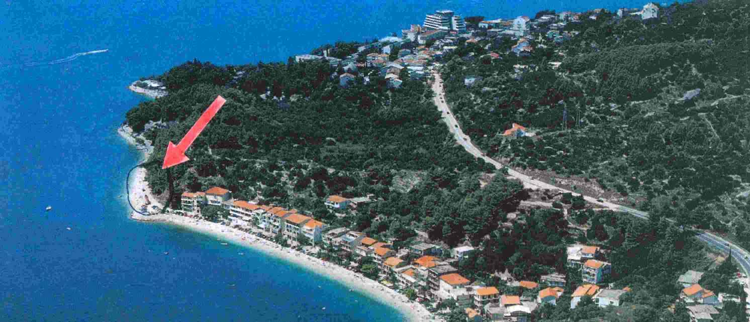 The plot for the seaside hotel in Croatia has a unique location