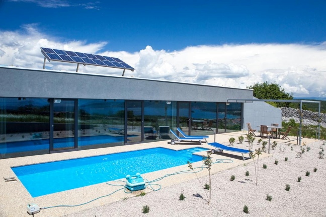 Croatia real estate - Modern villa for sale - Panorama Scouting.