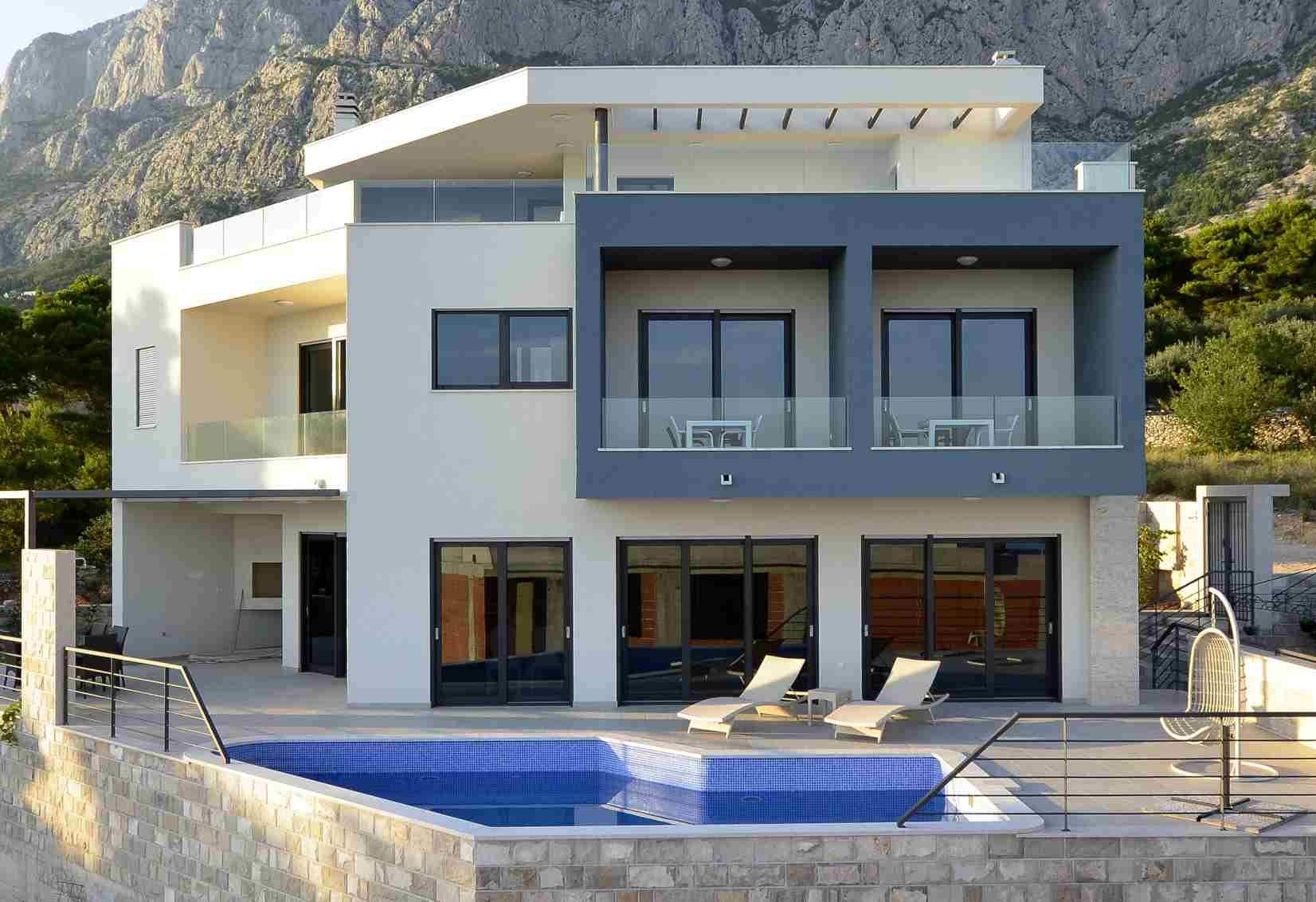 Smart Haus makarska ultramodern smart villa great sea views