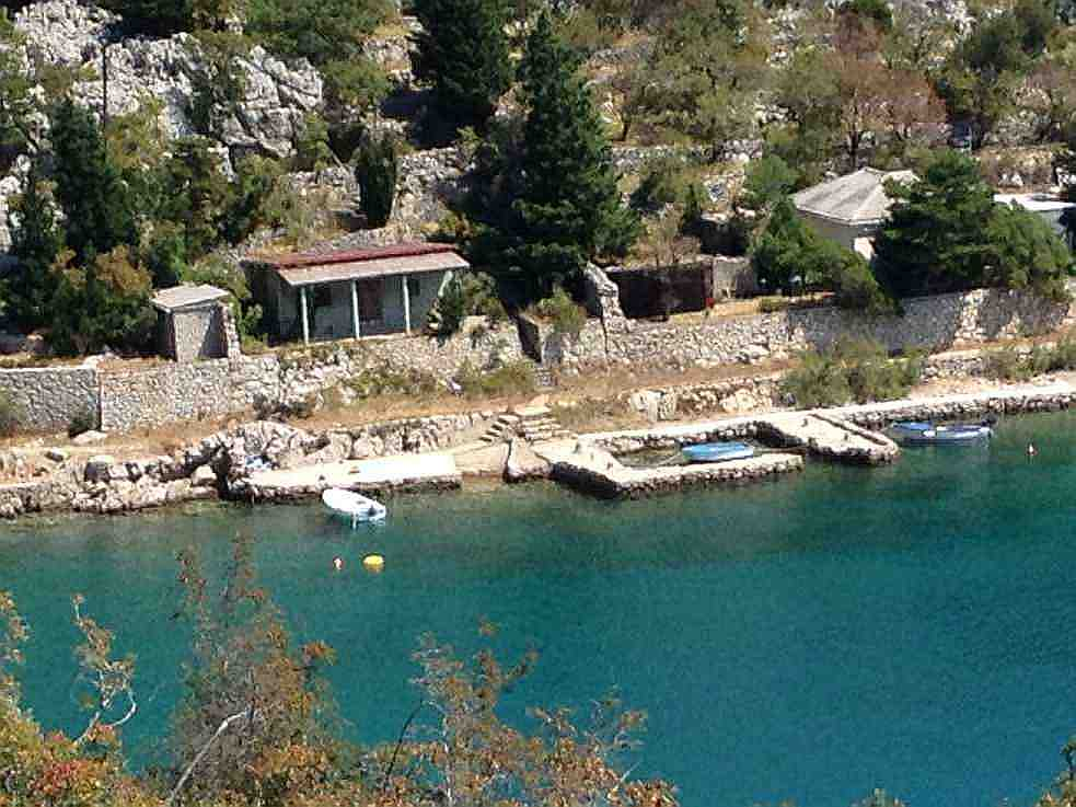 House on the sea for renovation for sale. Real estate agent Croatia - Panorama Scouting