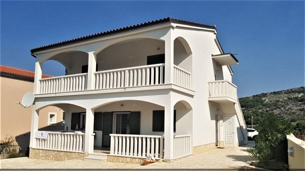 House with sea views in Primosten in Croatia for sale.