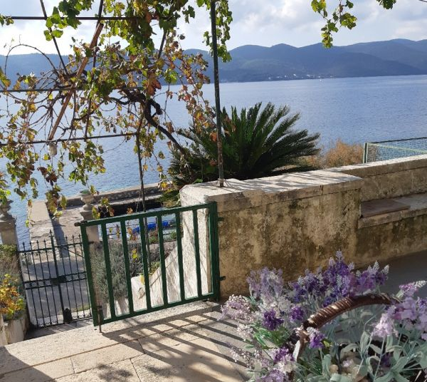 House by the sea on Peljesac in Croatia for sale.
