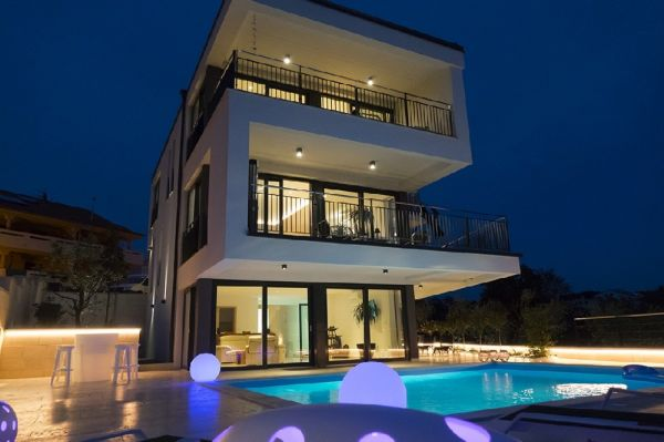 New luxury villa on the island of Krk in Croatia for sale.