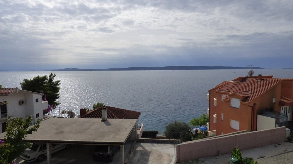 The sea view from the house for sale on Ciovo in Croatia. Property by the sea - Panorama Scouting