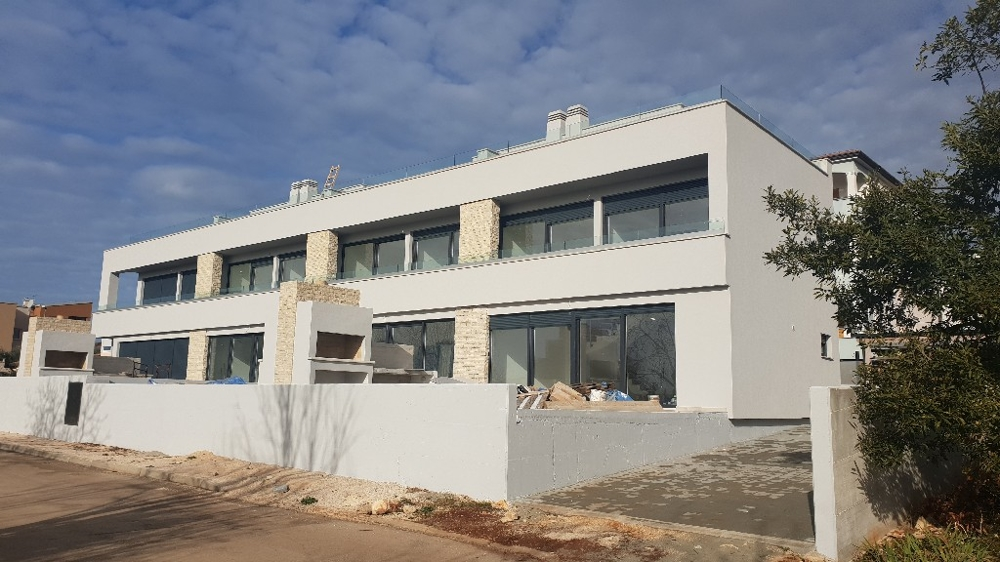 Terraced houses in Croatia in modern style for sale.