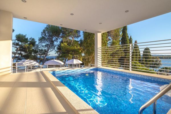 Hotel H1059 swimming pool for sale on the island of Krk in northern Croatia.