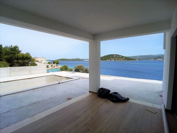 New villa with swimming pool in Croatia for sale.