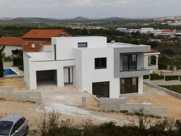 Modern villa with sea view in Croatia for sale.