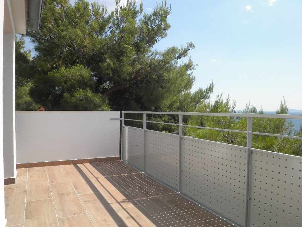 Terrace from the house H1120 in Croatia.