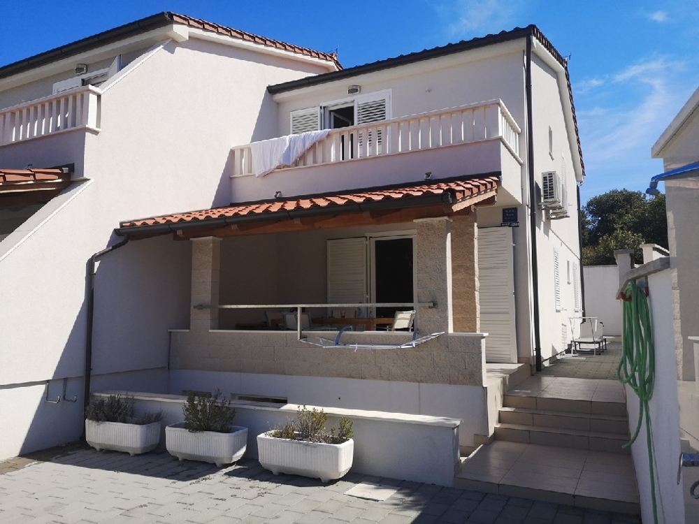 Semi-detached house for sale in Croatia.