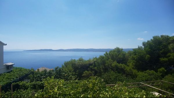 Sea view of the property H1236 in Omis, Croatia.