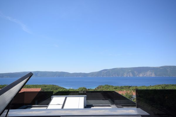 New house with pool in Krk on the island of Krk in the north of Croatia for sale.