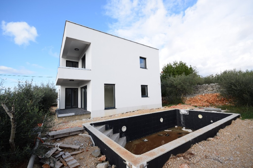 New villa for sale on the island of Krk in Croatia.