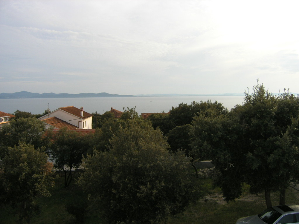 Balcony of the property H1299 - Apartment house in the Zadar region, Dalmatia.