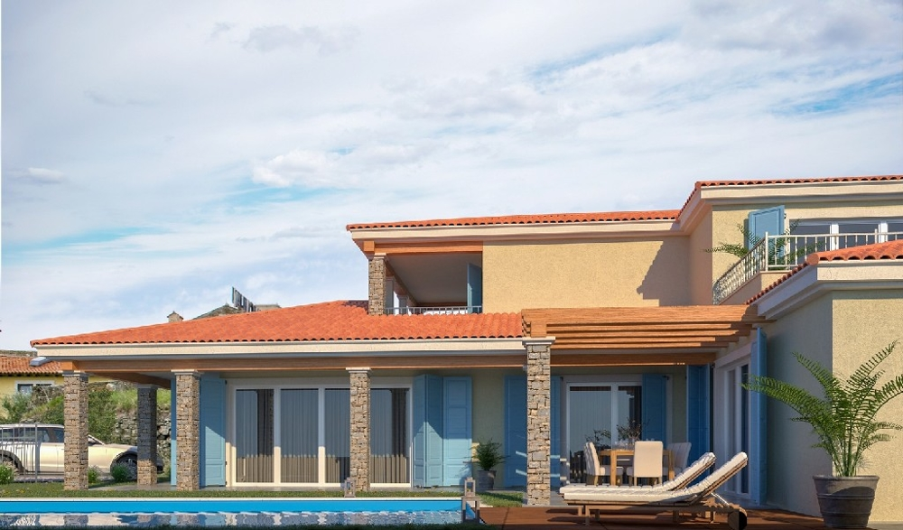 New house in Istria with swimming pool, H1323.